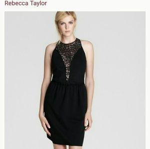 Rebecca Taylor Lace Panel Dress
